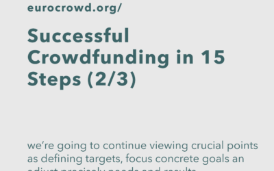 Successful Crowdfunding in 15 Steps